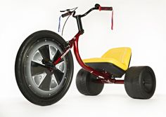 The High Roller adult-sized, low-rider tricycle, designed and marketed by former aerospace engineer Matt Armbruster.