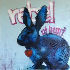 """rebel at heart"" mixed media on canvas, Nicol Lunardi Mixed Media Canvas, Rebel, Fine Art, Heart, Fictional Characters, New Media Art, Fantasy Characters, Visual Arts, Hearts"