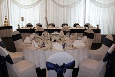 Beautiful Navy blue themed wedding, all included in the package price, with up to off wedding packages for On Your Wedding Day, Perfect Wedding, Summer Wedding, Wedding Venues Cornwall, Wedding Breakfast Menus, Honeymoon Suite, Luxury Wedding Venues, Civil Wedding, Bridal Suite