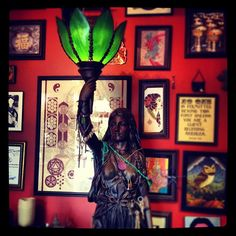 Hekate Shrine at Good Mojo Tattoos.