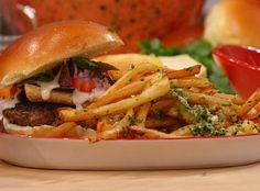 Rachael Ray Show - Food - Guy Fieri's Johnny Garlic Fries. These take a hot minute to make but are worth it!!