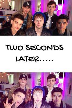 Haha the boys are so funny! :p