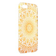 Tribal Mandala Orange #iPhone 7 Case http://www.zazzle.com/tribal_mandala_orange_iphone_7_case-256471262349178259?design.areas=%5Bgetuncommon_iphone7_clear_front%5D&CMPN=shareicon&lang=en&social=true&view=113235489318956361 #iPhone7