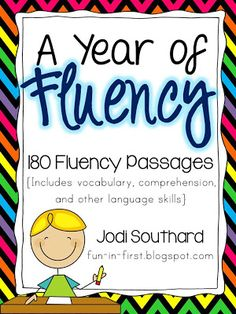 A Year of Fluency - 180 Fluency Passages #fluency who wants to buy this for me...