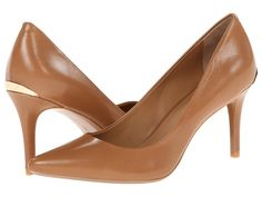 Calvin Klein Gayle (Caramel) High Heels $99, available here: http://rstyle.me/~3xkvm