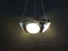 VW beetle headlight lamp by EmielvanKampen on Etsy