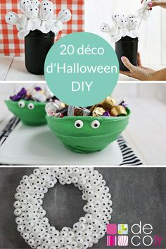 1000 id es sur le th me d corations d 39 halloween faire soi m me sur pinterest halloween - Decoration chambre ado a faire soi meme ...