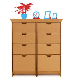 SmartDresser Set #cardboard #furniturerevolution