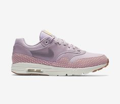 "Trendy Women's Sneakers :   NIKE AIR MAX 1 ULTRA ESSENTIAL WMNS ""PLUM FOG""    - #Women'sshoes"