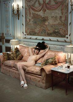 """lelaid: """" Kristen McMenamy by Steven Meisel, Ritz Paris, 1993 """""""