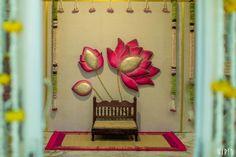 Wedding Stage Backdrop, Wedding Backdrop Design, Desi Wedding Decor, Luxury Wedding Decor, Wedding Stage Decorations, Backdrop Decorations, Diwali Decorations, Festival Decorations, Flower Decorations