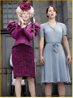 I wish i could dress like Effie and not look like a fool!!                                                                                                                                                     More