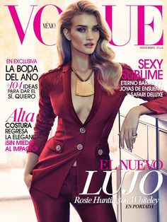 Rosie Huntington-Whiteley by James Macari Vogue Mexico November 2014