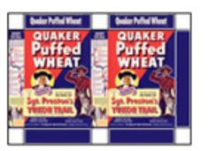 Puffed Wheat, Grocery Store, Baseball Cards