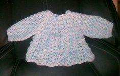 Easy Crochet Pattern for Newborn Jacket | Free Pattern