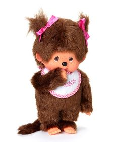 Pink Bib Girl Bebichhichi Plush Toy | Daily deals for moms, babies and kids
