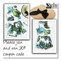 """Shein contest"" by aida-nurkovic ❤ liked on Polyvore featuring Kreisi Couture"