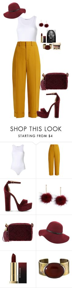 """""""Beauty Is Her Name"""" by mikamik on Polyvore featuring Chloé, Steve Madden, Chanel, Orduna Design and Clarins"""