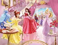 The Fairy Princess Wallpaper Mural- Wall murals that add the WOW factor to add to a child's bedroom or playroom. Wall murals Ireland - by wallmurals. Princess Mural, Disney Princess Bedding, Princess Dress Up, Royal Princess, Princess Academy, Princess Room, Kids Room Wallpaper, Wallpaper Murals, Bedroom Wallpaper