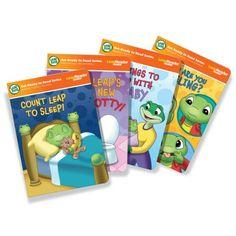 "LeapFrog LeapReader Junior: Toddler Milestones Book Set (works with Tag Junior) - LeapFrog - Toys ""R"" Us Toddler Learning, Learning Toys, Toddler Toys, Educational Games For Kids, Educational Toys, Learn To Read Books, Toddler Milestones, Sing Along Songs, New Sibling"