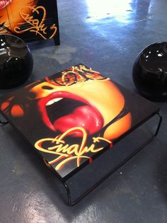 Graffiti Table