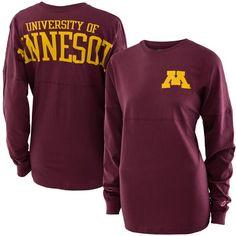 League Women's M University of Minnesota Back Long Sleeve T-Shirt