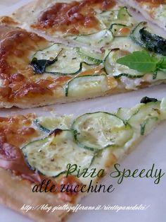Ricetta Pizza Speedy