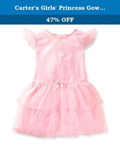 Carter's Girls' Princess Gown (Toddler/Kids) - Ballet Slippers - Medium. Carters Princess Gown (Toddler/Kids) - Ballet Slippers Carter's is the leading brand of children's clothing, gifts and accessories in America, selling more than 10 products for every child born in the U.S. The designs are based on a heritage of quality and innovation that has earned them the trust of generations of families.