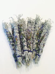 Artemisia smudge bundles.