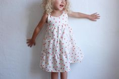 Summer Days Tiered Dress 12m to 5t