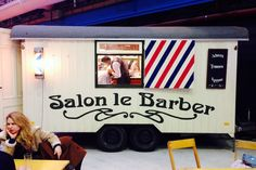 Mobile Barber Shops - Salon Le Barber Brings Men's Grooming Services on the Road (GALLERY)