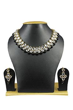 VVS Jewellers Ethnic Indian Bollywood Kundan Black Pearls... https://www.amazon.com/dp/B01J7XMZG2/ref=cm_sw_r_pi_dp_U_x_DWoJAb4QBFAY3