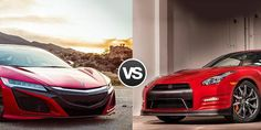Nissan GT-R vs Acura NSX - Technology or Brute Force? - https://carsintrend.com/nissan-gt-r-vs-acura-nsx/