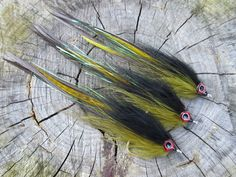 GT Flies Black and Olive