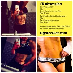 """Fighter Diet """"Absession""""  Tag a Friend! http://fighterdiet.com/fd-absession"""
