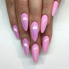"""Innocent Pink"" med mermaideffect"