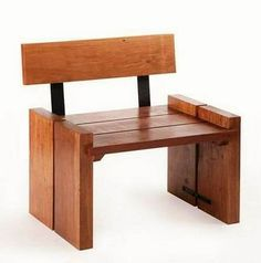 If you are fed of the typical look of the sofas and chairs then try making something different for your home with the wooden pallet, with the wooden pallet you can easily make the chair that you see in the below picture. Must try it because it even do not need a cushion to make it complete, so it's perfect for the home.