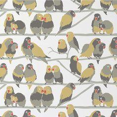 Aimee Wilder         Lovebirds Wallpaper                           | 2Modern Furniture & Lighting