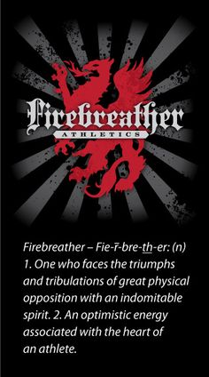 i got called a firebreather at crossfit crown point...love it!