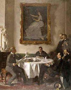 William Orpen: 'Homage to Manet'