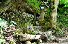 Fairy Fountains in the Val-de-Travers in Switzerland