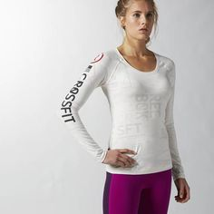 Reebok CrossFit Burnout Top. Don't burn out in the box.