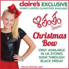 exclusive jojo siwas christmas bow