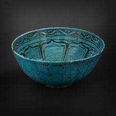 Bowl. Iran, Koubatchi Style, Late 19th Century.
