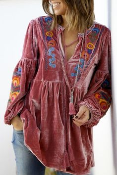 Best Ideas For Style Clothes Hippie Boho Chic Latest Fashion For Women, Trendy Fashion, Boho Fashion, Autumn Fashion, Trendy Style, Ibiza Style Fashion, Boho Gypsy, Hippie Boho, Hippie Hats