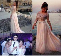 Long Prom Dress,Vintage Prom Dress,Custom Made Sequies Prom Dress,Girls Pageant/Graduation Dress,Long Bridesmaid Dress,Long Evening Dress