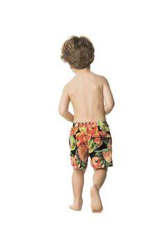 The perfect swim trunks for your little man are Agua Bendita Grove Swim Shorts!  Love these <3 #aguabendita #designershorts #kidsswimwear