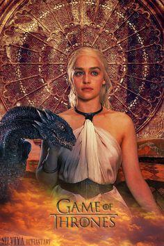 Resultado de imagen para khaleesi and her dragons