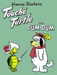 Touche Turtle. Cartoons from the past