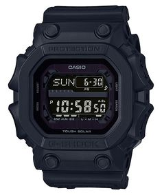 From G-SHOCK, the watch that sets the standard for timekeeping toughness, comes the latest models to feature a stealth G-SHOCK black that captures the essence of one-tone resin. These models are based